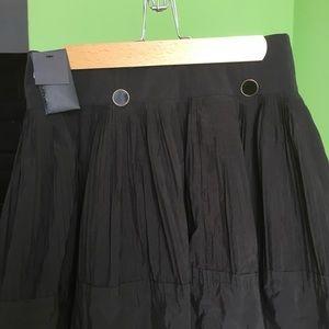 Club Monaco soft black miniskirt